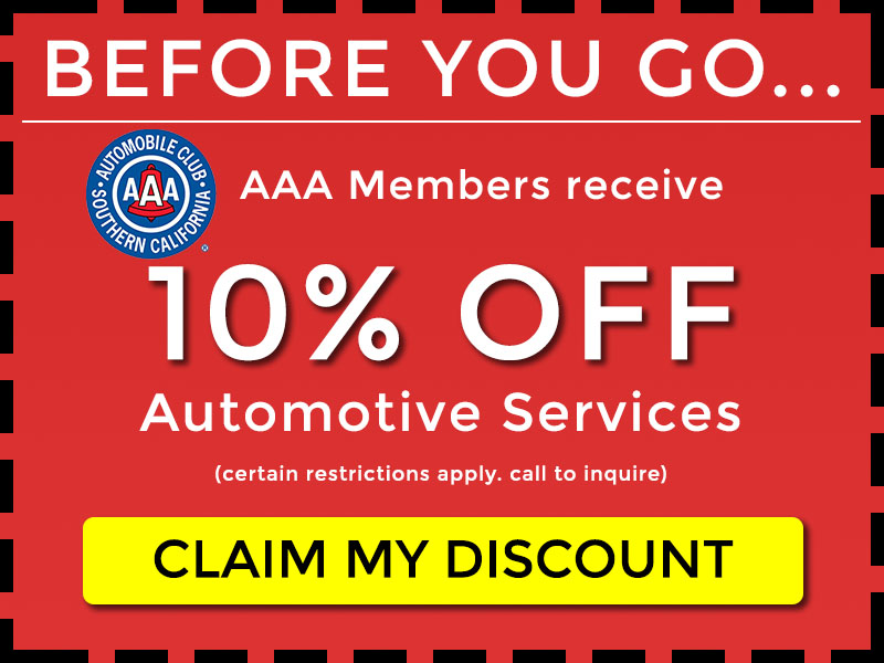 10 percent off for autoclub members